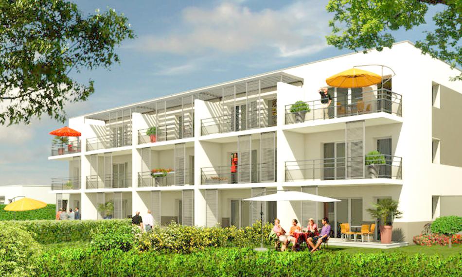 vente appartement neuf vefa bagnols sur c ze. Black Bedroom Furniture Sets. Home Design Ideas